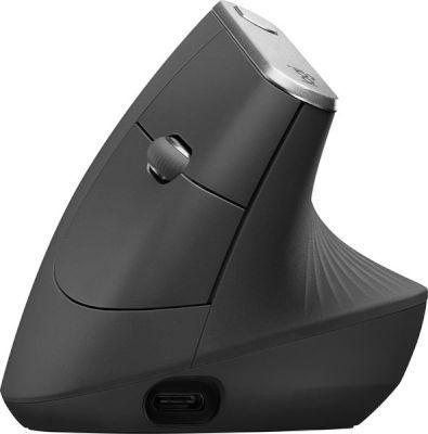 Photo of Logitech MX Vertical Advanced Ergonimic mouse RF Wireless Bluetooth Optical 4000 DPI Right-hand