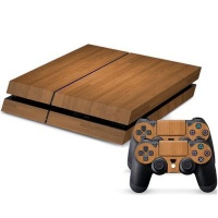 skin nit decal for ps4 cherry wood ps4 accessory
