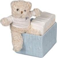 bebedeparis happy nappy baby box size 2 3 6 kg blue bag