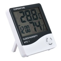 amazing frog lcd digital temperaturehumidity meter health product