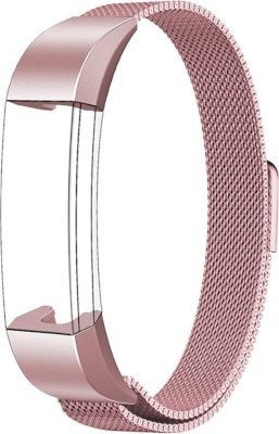 Linxure Milanese Strap for the Fitbit Alta Rose Gold Large