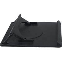 ntech swivel laptop stand black computer