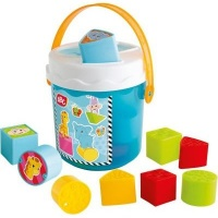 simba abc colourful sorting bucket baby toy