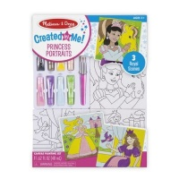 melissa and doug created by me canvas painting set princess arts craft