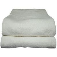 bunty surplus design 1 bath sheet 100x160cm 700gms white bath towel
