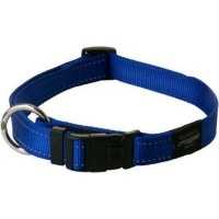 rogz utility dog collar blue reflective collars leash