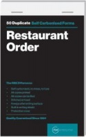 rbe restaurant order duplicate pads of 5 other