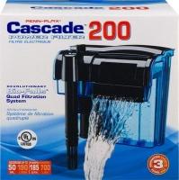 penn plax cascade 200 hang on power filter 700lhour