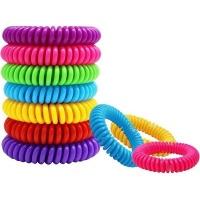 Unbranded Natural Mosquito Bracelet Set of 10 Bands