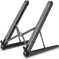 Ntech Portable Laptop and Tablet Stand Dark Grey