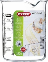 pyrex classic kitchen lab measuring glass 250ml other kitchen appliance