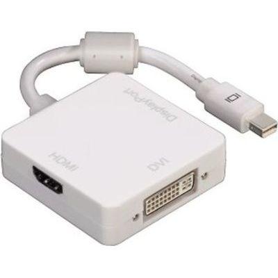 Photo of Hama 3-in-1 Mini DisplayPort Adapter for DVI Displayport or HDMI