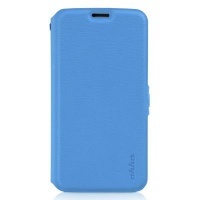 ahha reilly smart flip case for samsung galaxy s5 blue