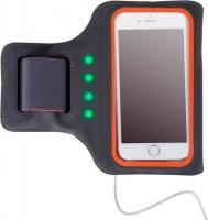 astrum ab550 led powered mobile sports armband greyorange gp