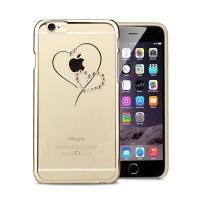 astrum mc330 golden heart swarovski crystal case for iphone