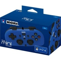hori horipad wired mini gamepad for playstation 4 blue ps4 console