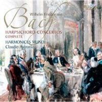 wilhelm friedemann bach harpsichord concertos complete music cd