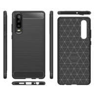 Tuff Luv Tuff Luv Carbon Fibre Style Shockproof Case for Huawei P30 Pro
