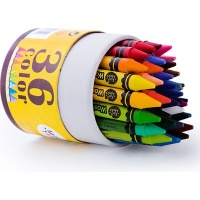 jarmelo washable wax crayons 36 art supply