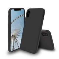orzly flexicase shell case for iphone x matte electronic
