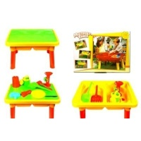 ideal toys sand beach set multi player table sport outdoor toy