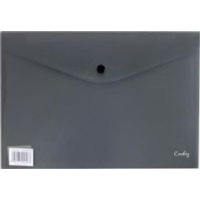 croxley a4 envelope with button 12 pack black school supply