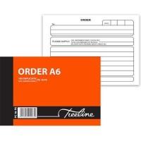 treeline duplicate pen carbon order book a6l pack of 10 office machine