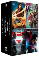 DC Universe 4 Movie Collection Man Of Steel Batman v Superman Suicide Squad Wonder Woman