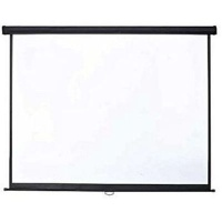 ultra link self locking manual pull down projector screen media player accessory