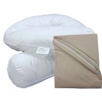 bodypillow comfi curve 100 pure cotton pillowcase included feeding