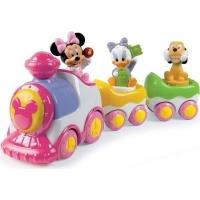 clementoni minnie musical train musical toy