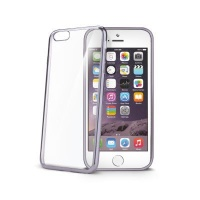 celly laser shell case for iphone 6s dark silver