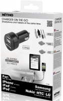 nitho dual travel charger smartphones tablets tablet accessory