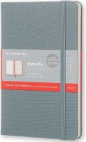 moleskine two go hard medium ruled saxe 100gsm other
