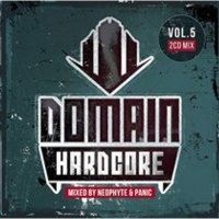 domain hardcore mixed by neophyte and panic music cd