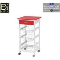 eco kitchen trolley red living room furniture