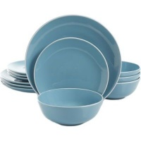 gibson home pandora stoneware dinnerware set solid colour water coolers filter
