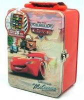Disney Pixar Cars Disney Cars Metal Car Storage Case for 18 Die Cast Cars