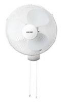Goldair Deluxe Wall Mount Fan White