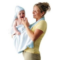 Clevamama Splash N Wrap Towel Blue