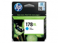 HP 178XL Cyan Ink Cartridge with Vivera Ink Blister Pack