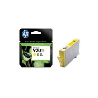 hp 920xl yellow officejet ink cartridge blister pack office machine