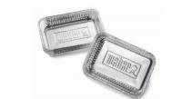 weber small drip pans 10 pack braai accessory