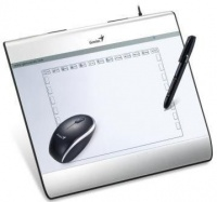 genius new pen and mouse design graphics tablet mousepen