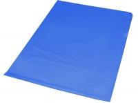 Bantex A4 Anti Reflective PVC Secretarial Folder Blue