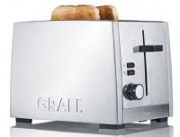 graef 2 slice toaster silver toaster
