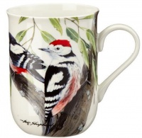 Maxwell Williams Maxwell Williams 300ml Eric Shepherd Spot Woodpecker Decal Mug White