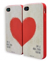 legami iphone 44s cover love is being stupid together