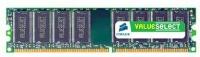 corsair valueselect memory ddr400 1gb