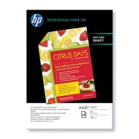 hp professional glossy 180gsm inkjet paper a4 50 sheets office machine